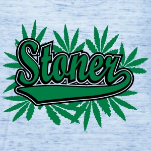 Stoner with cannabis leaves Women's T-Shirts - Women's Flowy Tank Top by Bella