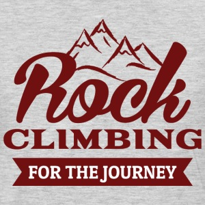 Rock Climbing For The Journey - Men's Premium Long Sleeve T-Shirt
