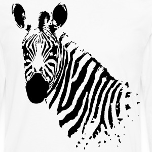 Zebra - Men's Premium Long Sleeve T-Shirt