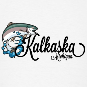 Kalkaska Michigan MI City T-Shirts Shirts Tees Tee Long Sleeve Shirts - Men's T-Shirt