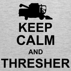 keep_calm_and_thresher_g1 Hoodies - Men's Premium Tank