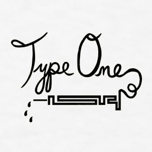 Type One Diabetes - Needle - Black  Mugs & Drinkware - Men's T-Shirt