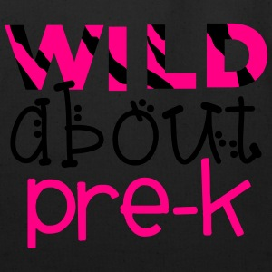 Wild About Pre-K - Teachers Tshirts Women's T-Shirts - Eco-Friendly Cotton Tote