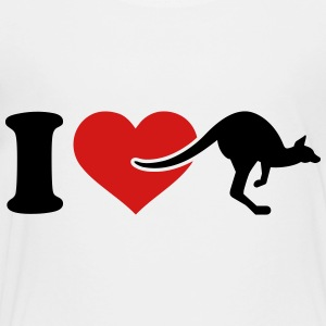 I love Kangaroo Kids' Shirts - Toddler Premium T-Shirt