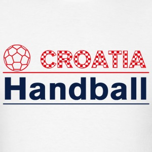 Croatia Handball Hoodies - Men's T-Shirt