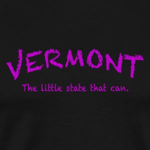 Vermont The Little State That Can - Men's Premium T-Shirt