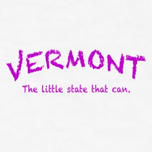Vermont The Little State That Can - Men's T-Shirt