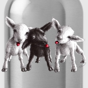 cheeky sheep - Water Bottle