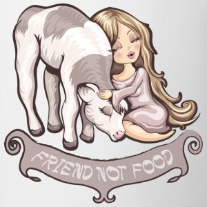 Friend not food T-Shirts - Coffee/Tea Mug