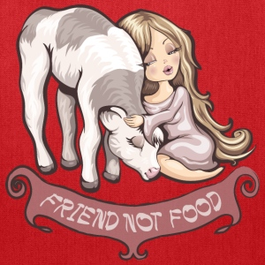 Friend not food Women's T-Shirts - Tote Bag