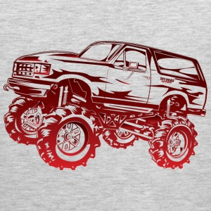 Mega Mud Ford Bronco Red Hoodies - Men's Premium Tank
