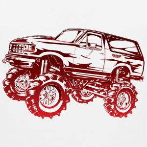 Mega Mud Ford Bronco Red Kids' Shirts - Men's Premium Tank