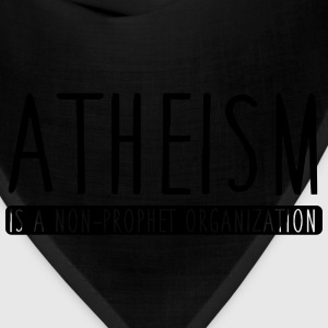 Atheism is a non-prophet organization Hoodies - Bandana