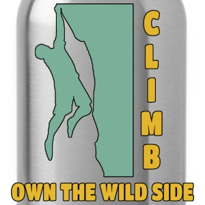 Climb Own The Wild Side - Water Bottle