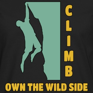 Climb Own The Wild Side - Men's Premium Long Sleeve T-Shirt