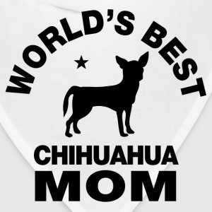worlds best chihuahua mom Women's T-Shirts - Bandana