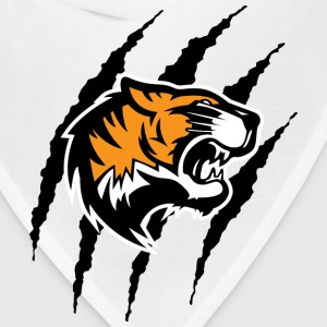 Tiger with claw marks - Bandana