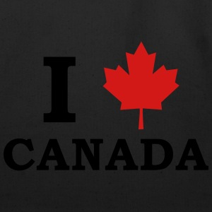 I Love Canada T-Shirts - Eco-Friendly Cotton Tote