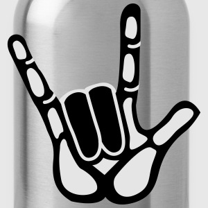 rock hand T-Shirts - Water Bottle