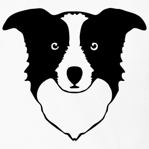 border collie Hoodies - Men's Premium Long Sleeve T-Shirt