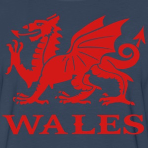 wales Hoodies - Men's Premium Long Sleeve T-Shirt