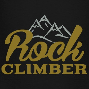 Rock Climber - Toddler Premium T-Shirt