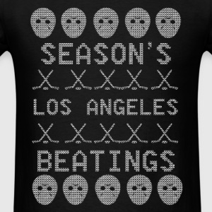 Season's Beatings LA Long Sleeve Shirts - Men's T-Shirt
