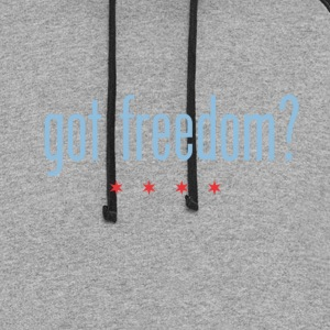 Got Freedom? T-Shirts - Colorblock Hoodie