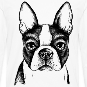 sketches of animals small dog - Men's Premium Long Sleeve T-Shirt