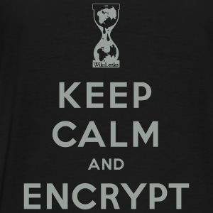Keep calm and Encrypt Hoodies - Men's Premium T-Shirt