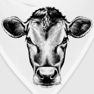 sketches of animals cow - Bandana