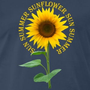 Sunflower Tank Tops - Men's Premium T-Shirt