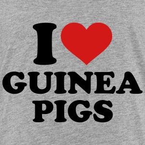 I love guinea pigs Kids' Shirts - Toddler Premium T-Shirt