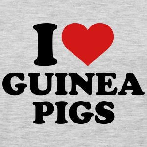 I love guinea pigs Kids' Shirts - Men's Premium Long Sleeve T-Shirt