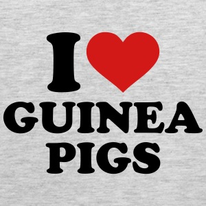 I love guinea pigs Kids' Shirts - Men's Premium Tank