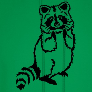 Raccoon Kids' Shirts - Men's Hoodie