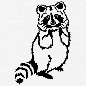 Raccoon Mugs & Drinkware - Men's T-Shirt