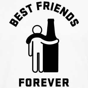 Men's Humor Best Friends Forever T-Shirts - Men's Premium Long Sleeve T-Shirt