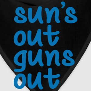 Sun's Out Guns Out - Bandana