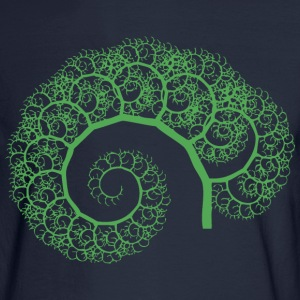 Fractal Tree Women's T-Shirts - Men's Long Sleeve T-Shirt