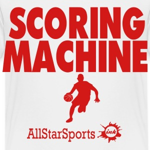 SCORING MACHINE BASKETBALL - Toddler Premium T-Shirt