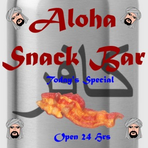 Aloha Snack Bar infidel Shirt - Water Bottle