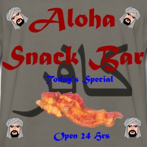 Aloha Snack Bar infidel Shirt - Men's Premium Long Sleeve T-Shirt