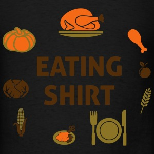 Eating Shirt Long Sleeve Shirts - Men's T-Shirt