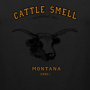 CATTLE SMELL (Kalispell) MONTANA! T-Shirts - Men's Premium Tank