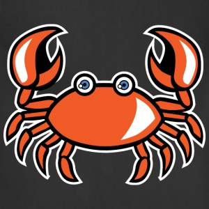 funny cartoon crab - Adjustable Apron