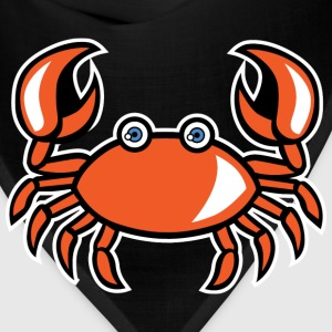 funny cartoon crab - Bandana
