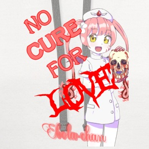 No Cure For Love (2/3) - Contrast Hoodie