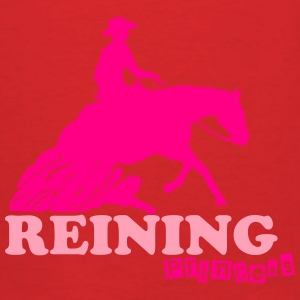 Reining Princess Wsternriding Hoodies - Men's T-Shirt