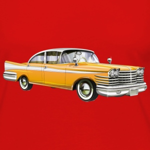 retro car yellow - Women's Premium Long Sleeve T-Shirt